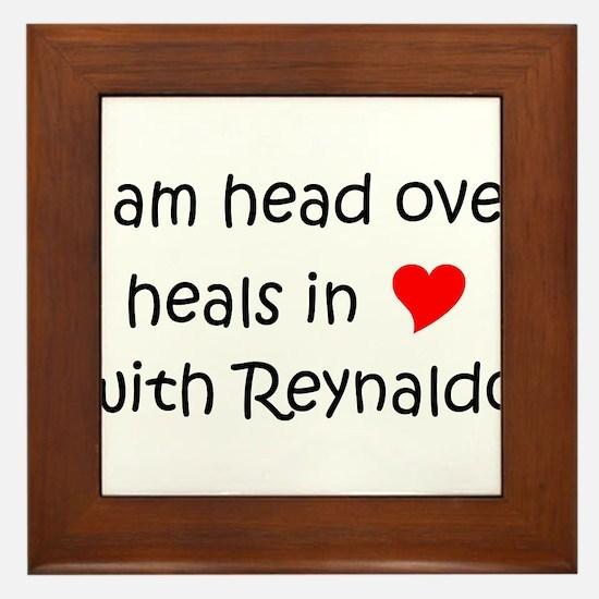 Unique Heart reynaldo Framed Tile