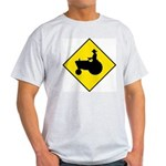 Tractor Crossing Ash Grey T-Shirt