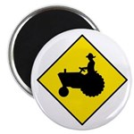 "Tractor Crossing Sign - 2.25"" Magnet (100 pack)"