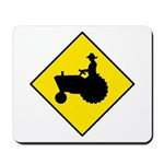 Tractor Crossing Sign - Mousepad