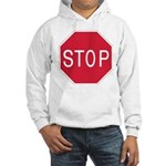Stop Sign Hooded Sweatshirt