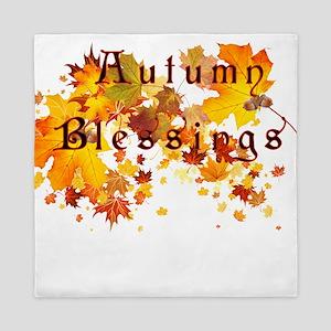 Autumn Blessings Queen Duvet