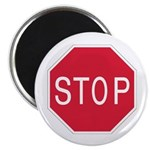 "Stop Sign - 2.25"" Magnet (10 pack)"