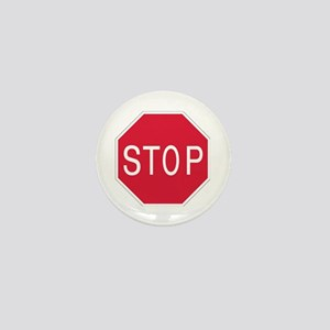 Stop Sign - Mini Button