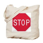 Stop Sign - Tote Bag