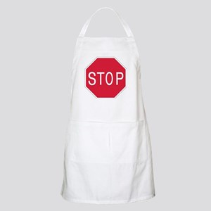 Stop Sign - BBQ Apron