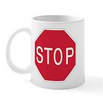 Stop Sign - Mug