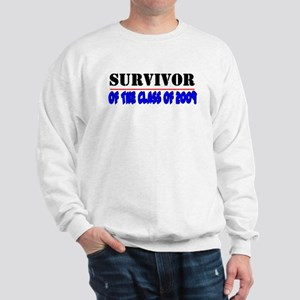 Survivor class of 2009 (RED) Sweatshirt