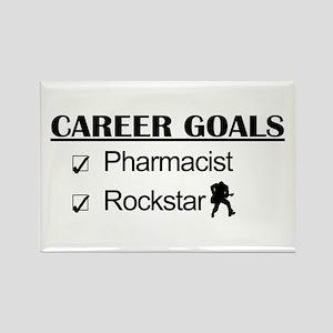 Pharmacist Career Goals - Rockstar Rectangle Magne