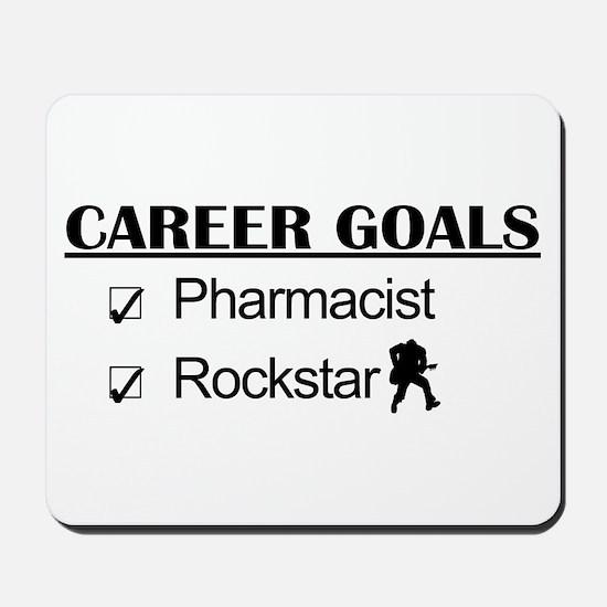 Pharmacist Career Goals - Rockstar Mousepad