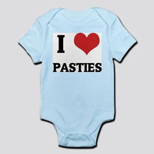 I Love Pasties Infant Creeper