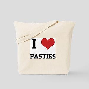 I Love Pasties Tote Bag