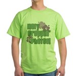Holy Croppin' Photos Green T-Shirt