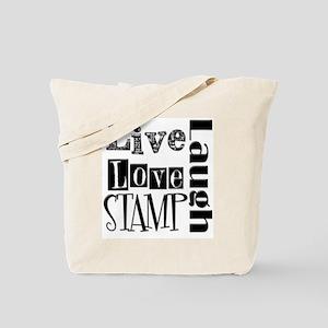 Live Love STAMP Tote Bag