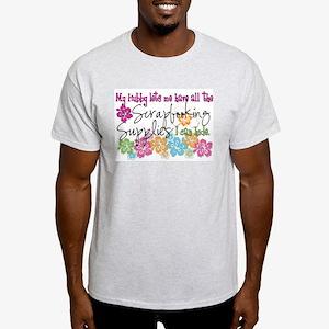 Scrapbooking Supplies I can H Light T-Shirt