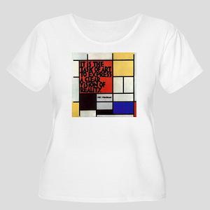Piet's Motto Women's Plus Size Scoop Neck T-Shirt