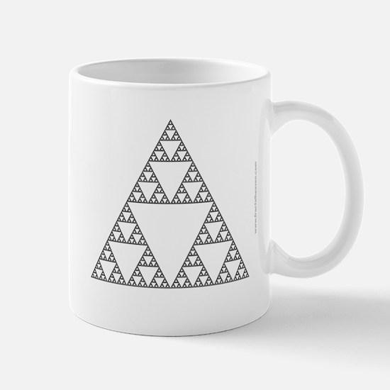 'Sierpinski Triangle' Fractal Mug