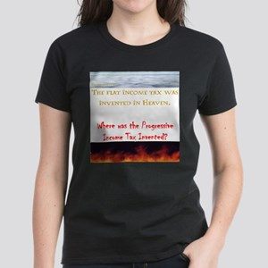 Flat tax invented in heaven T-Shirt