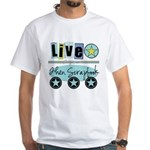 Live White T-Shirt