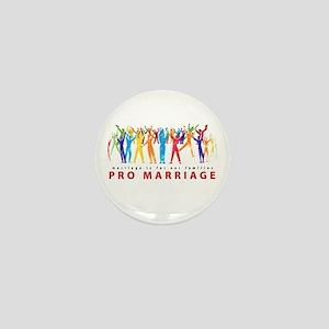 Pro Marriage Mini Button