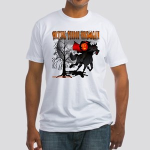 Headless Horseman Fitted T-Shirt