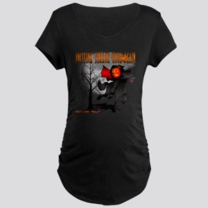 Headless Horseman Maternity Dark T-Shirt