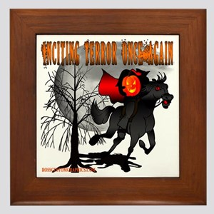 Headless Horseman Framed Tile