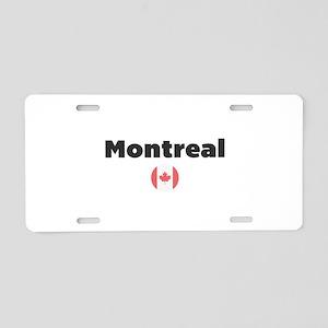 Montreal Aluminum License Plate