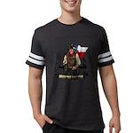 Under The Lone Star Logo Mens Football T-Shirt