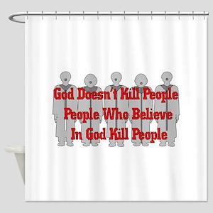 Religious Crazies Shower Curtain