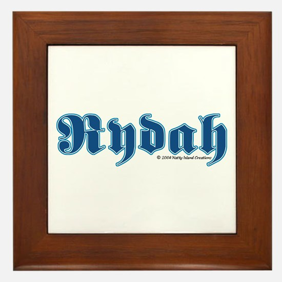 Rydah Framed Tile