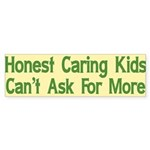 Honest Caring Kids Bumper Sticker (50 pk)