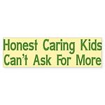 Honest Caring Kids Bumper Sticker (10 pk)