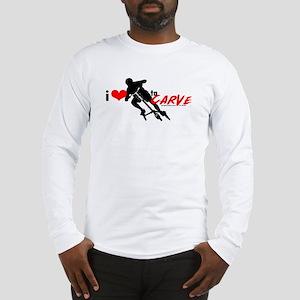 i (heart) to CARVE Long Sleeve T-Shirt