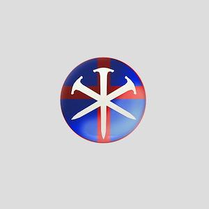 'Patroit Cross' Mini Button