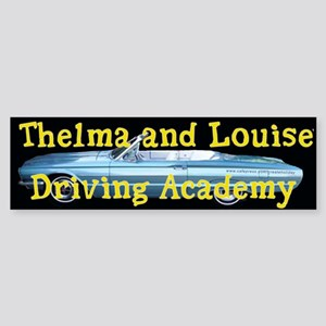 Thelma and Louise Bumper Sticker