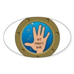 Not Penny's Boat Oval Sticker (10 pk)