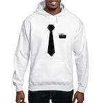 Geek Tie Hooded Sweatshirt