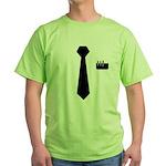Geek Tie Green T-Shirt