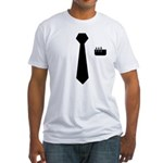 Geek Tie Fitted T-Shirt
