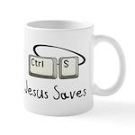 Jesus Saves (Ctrl S) Mug
