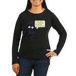 Life Wizard Women's Long Sleeve Dark T-Shirt