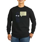 Life Wizard Long Sleeve Dark T-Shirt