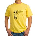 Life Wizard Yellow T-Shirt
