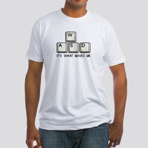 WASD Fitted T-Shirt