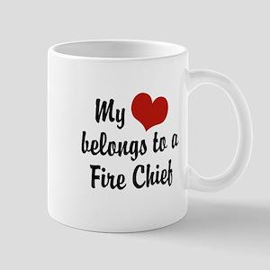 My Heart Belongs to a Fire Chief Mug