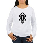 Blocks - Black Women's Long Sleeve T-Shirt