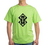 Blocks - Black Green T-Shirt