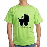 Gamer from Birth Green T-Shirt