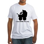 Gamer from Birth Fitted T-Shirt